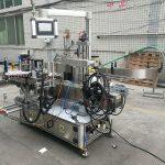 Volautomatische zelfklevende dubbelzijdige flesetiketteringsmachine met codeur